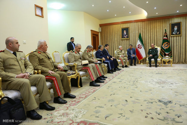 Dehghan meets with Syrian Chief of Staff