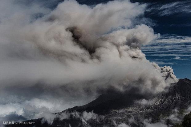 تصاویری از فوران آتشفشان ها