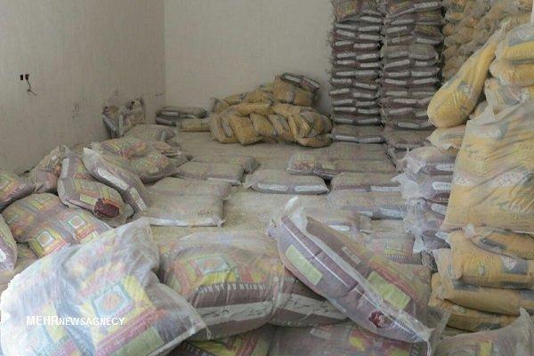کشف ۵ تن برنج خارجی قاچاق در مراغه
