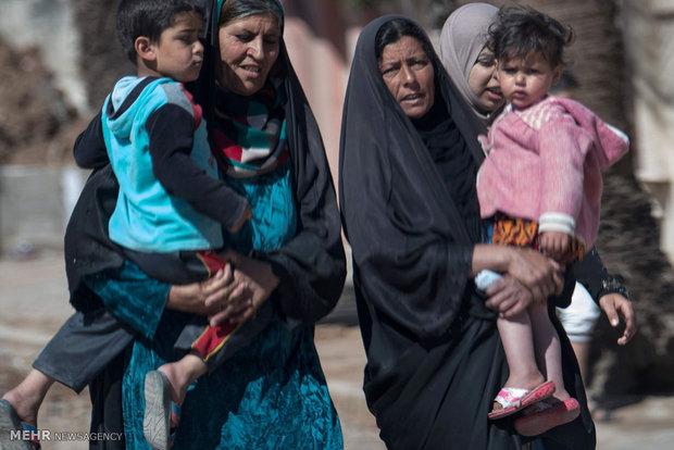 ئازادکردنی دهیان ناوچهی موسڵ و کوژرانی ۱۳۲۱ داعشی