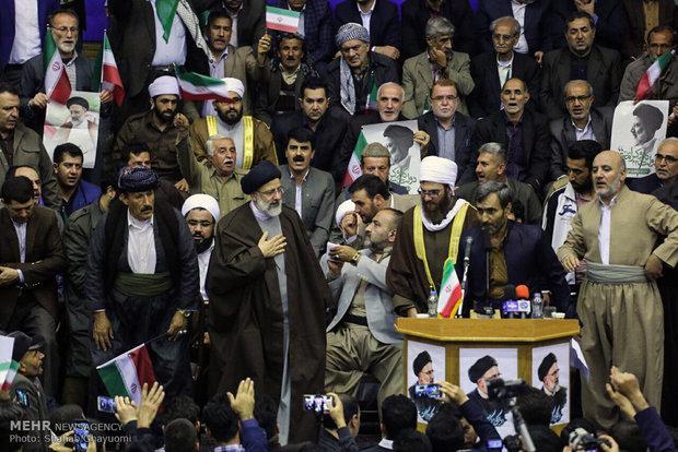 سفر حجت الاسلام سید ابراهیم رئیسی به کردستان