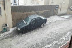 بارش باران در کردستان