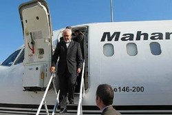 FM Zarif arrives in South Africa
