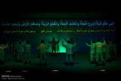۱۱۵هزار نفر از نمایش فصل شیدایی در زنجان استقبال کردند