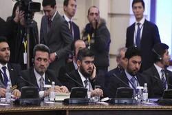 معارضة الرياض ترفض المشاركة في مؤتمر الحوار السوري في سوتشي