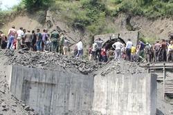 26 عامل عالقون في منجم الفحم الحجري بمحافظة كلستان شمال ايران