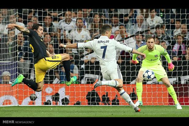الريال يتغلب على أتلتيكو مدريد بثلاثية ويضع قدماً في نهائي أبطال أوروبا