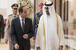 السیسی و محمد بن زاید