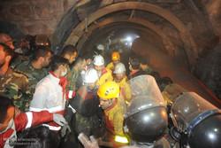 استمرار عمليات البحث والانقاذ في منجم يورت شمال ايران / صور
