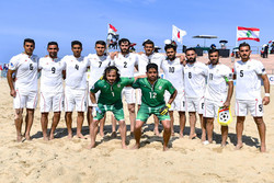Beach soccer squad lands in Dubai