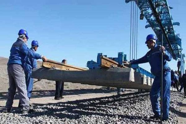 دانشگاه آزاد کرمان رشت ریل گذاری راه آهن رشت- قزوین ۸۰ درصد پیشرفت دارد ...