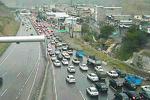 ترافیک نیمه سنگین درآزادراه کرج – تهران