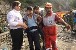استمرار عمليات الانقاذ في منجم الفحم الحجري شمال ايران