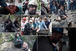 امدادگران از نخستین ریزش معدن آزادشهر عبور کردند