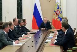 نشست شورای امنیت روسیه