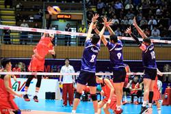 دیدار تیم های والیبال امید ایران و امید چین