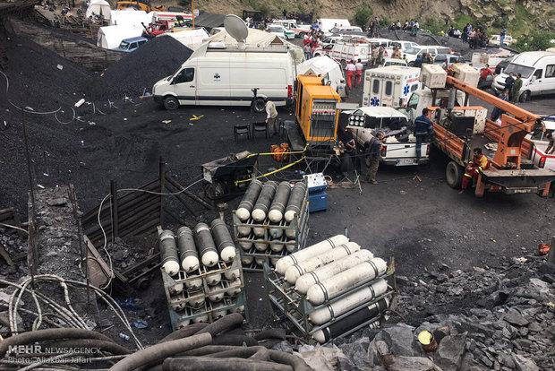 Rescue efforts underway in north of Iran