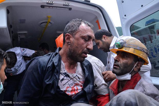 تجسس برای یافتن اجساد کارگران معدن