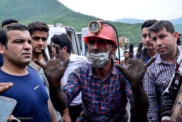 استمرار عمليات البحث والانقاذ في منجم يورت شمال ايران