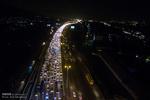 ترافیک آزادراه کرج سنگین است/تردد پرحجم در محور چالوس