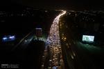 ترافیک آزادراه کرج و جاده چالوس سنگین است
