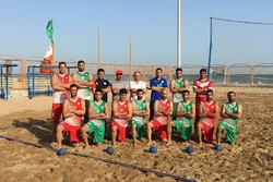Beach handball squad departs for Thailand