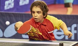 Iranian prodigy secures place at ITTF Hopes Program