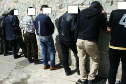 دستگیری اعضای باند ۱۲ نفری شرکت های هرمی در پرند