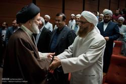 Seçim adayı Reisi'nin Ehl-i Sünnet alimleriyle görüşmesi