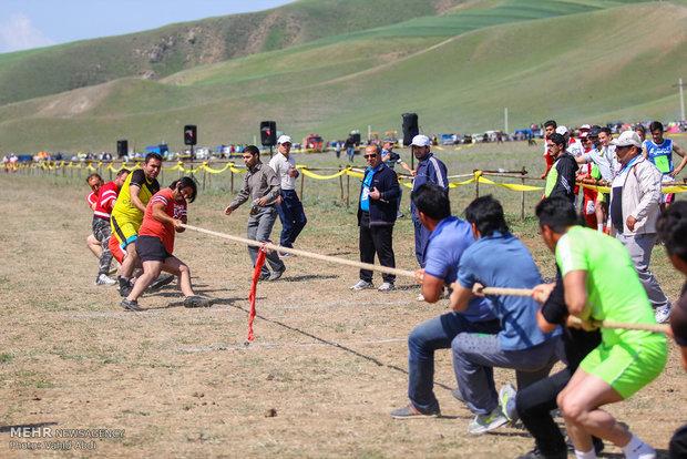 İranlı göçebelerin Spor-Kültür Festivali
