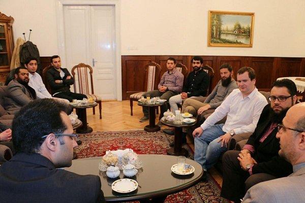 Bosnalı akademisyenler İran Büyükelçiliği'ni ziyareti etti