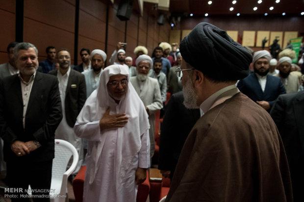 تجمع علماء أهل السنة لدعم المرشح الرئاسي رئيسي