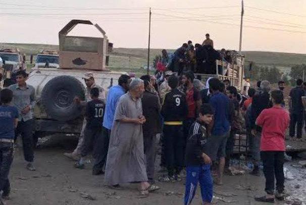 عودة اكثر من ۵۷ الف أسرة نازحة لمناطق سكناها المحررة في ثلاث محافظات عراقية
