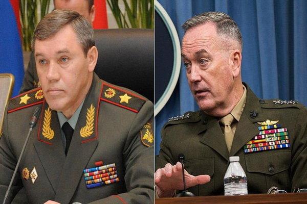 گفتگوی تلفنی روسای ستاد مشترک ارتش روسیه و آمریکا پیرامون سوریه