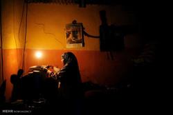 Gazze'den karanlık gece görüntüleri
