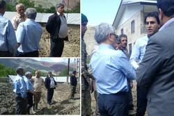 راه های اصلی و فرعی روستاهای سیل زده فیروزکوه در حال بازگشایی است