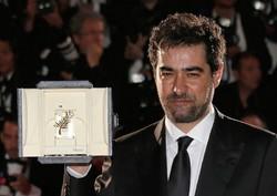 Palme d'Or winner Shahab Hosseini