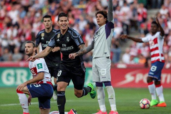 برد پرگل رئال مادرید مقابل گرانادا/ ۳ امتیاز شیرین برای تیم زیدان