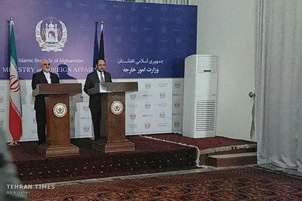 ظريف: ايران ستقف الى جانب افغانستان على جميع الاصعدة