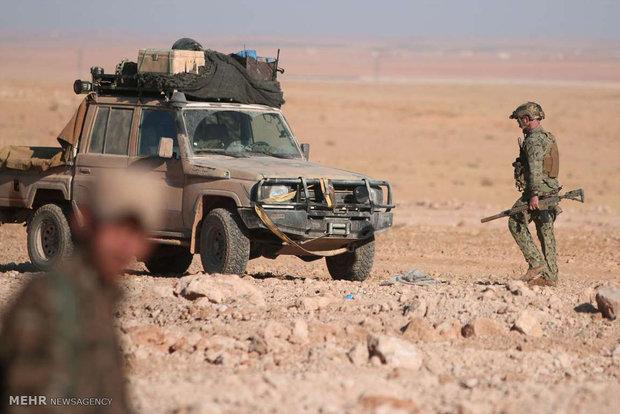 حضور نیروهای آمریکایی در سوریه