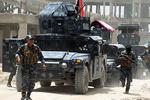 تداوم پیشروی های نیروهای عراقی در غرب موصل