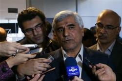 محمد فرهادی در جمع خبرنگاران