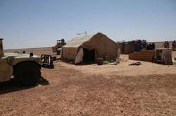 """تدمير مقرات ومضافات واكداس لـ""""داعش"""" في صحراء الرطبة غرب العراق"""