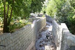 حفاری کانال جمع آوری آب های سطحی درغرب پایتخت