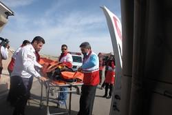 مانور امدادی و رژه خودرویی و موتوری هلال احمر کرمان برگزار شد