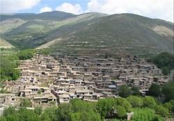 A view of Malham Darreh, a touristic village in the northwestern Hamadan province