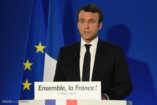 پیروزی ماکرون در انتخابات فرانسه
