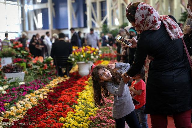 15th Intl. Flower Expo kicks off in Tehran