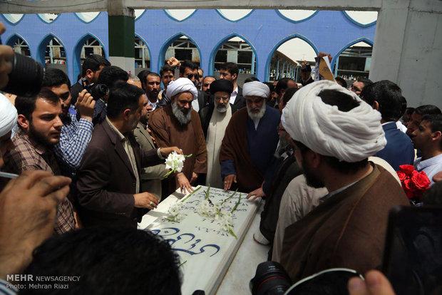 Cumhurbaşkanlığı seçim adayı Reisi Huzistan'da