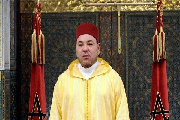 ابراز همبستگی پادشاه مغرب با رئیس جمهور فرانسه به سبب «استراسبورگ»